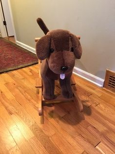 Pottery barn chocolate lab rocker in Seattle, WA (sells for $80)