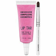 Obsessive Compulsive Cosmetics - Lip Tar - Metallic in Lovecraft - iridescent pink/lilac metallic  #sephora