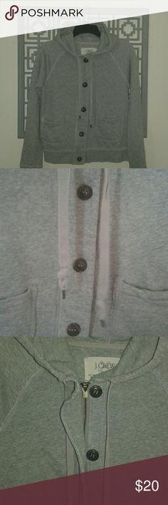 J. CREW HOODIE Gently used J.Crew Vintage French Terry hoodie. J. Crew Tops Sweatshirts & Hoodies