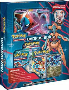 Deliver Devastating Damage with the DNA Pokemon Deoxys. Mysterious and magnificent with multiple mutations, the Mythical DNA Pokemon Deoxys is a true enigma. Cool Pokemon Cards, Rare Pokemon Cards, Pokemon Trading Card, Pokemon Party, Pokemon Birthday, Pokemon Pins, Pokemon Games, Pokemon Deoxys, Pokemon Go Images