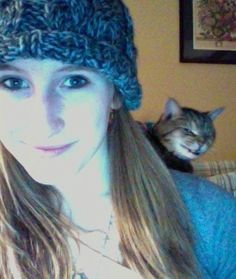 I guess that cat just showed what it thought about selfies. lol !!!