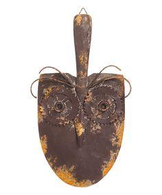 Look at this Owl Face Shovel Garden Décor on #zulily today!