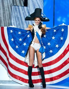 Miss U.S.A. at the Miss Universe 2011 pageant.
