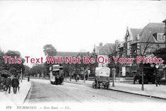 SU 127 - Kew Road, Richmond, Surrey - 6x4 Photo Richmond Bridge, Richmond Surrey, Richmond Upon Thames, Tunbridge Wells, Hampshire, United Kingdom, Closer, Photograph, Image