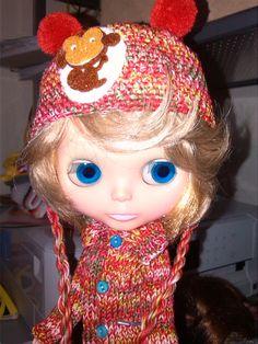echo por mi Big Eyes, Crochet Hats, Dolls, Knitting Hats, Baby Dolls, Puppet, Doll, Baby, Girl Dolls