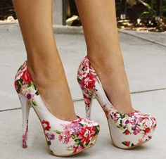 Lovely high heel #shoes