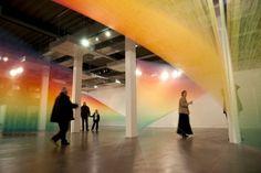 Gabriel Dawe y sus esculturas primáticas