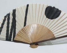 Vintage Japanese Bamboo Hand Fan