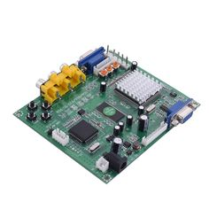 2017 New High Definition Arcade Game CGA/EGA/RGBS/RGBHV/YUV/YPBPR to VGA HD Video converter board GBS-8200 standard VGA output