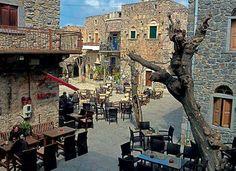 Mesta Village, Chios Isl, Greece