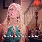When you have a date with Mr. Herxheimer...#RHOC #realhousewives #lyme