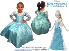 For sale Princess Elsa Ice Snow queen from Frozen disney movie alike dressup costume dress ball gown flower girl cheap national glitz pageant outfit La Reine des neiges quinceanera  Disfraz de Princesa Elsa de Frozen Una Aventura Congelada reina vestido presentacion 3 años comunion graduacion Kinder regalo barato vendo