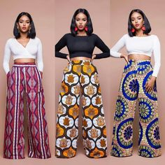 Latest Ankara Trousers For Women Hello,Today we bring to you 'Latest Ankara Trousers For Women'. These Ankara trousers are the latest, trendiest and the best in the Ankara Fashion community. These trousers would suit in any event or African Fashion Ankara, Latest African Fashion Dresses, African Inspired Fashion, African Print Dresses, African Print Fashion, Africa Fashion, Fashion Prints, Modern African Dresses, African Print Pants