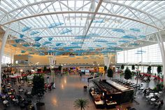 Now, that's what we call traveling in style. {The Indianapolis International Airport}