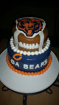 Chicago bears cake | Kim's Cakes | Pinterest | Cakes, Make it and As