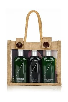 Dr. Alkaitis Organic Starter Kit for Unbalanced Skin is a gentle and effective treatment for acne.