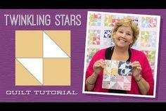 Make a Twinkling Stars Quilt with Jenny!