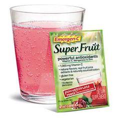 Free Sample of Emergen-C Original and  Super Fruit Drink Mix - http://ift.tt/2avkxWU