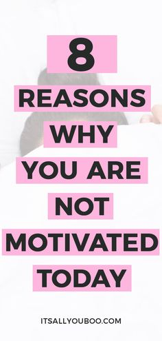 Struggling to get out of bed every morning? Wish you were motivated? Click here for 8 motivation killers you need to know about + exactly how to fix them and get motivated. #Motivation #Inspiration #Motivated #GetMotivated #MotivationTips #DailyMotivation #Motivate #GetMoving #SelfImprovement #GoalDigger #Success #Productivity #PersonalDevelopment #GrowthMindset #SelfHelp #Energy #AchieveYourGoals #PersonalGrowth #SelfDevelopment #Millennial Good Motivation, Motivation Inspiration, Getting Out Of Bed, Getting Things Done, How To Get Motivated, Do Homework, Morning Wish, Good Habits, Achieve Your Goals