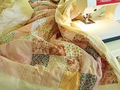 Alicia Paulson's Ollalieberry Quilt (Pattern available at Posie: Rosy Little Things online shop)