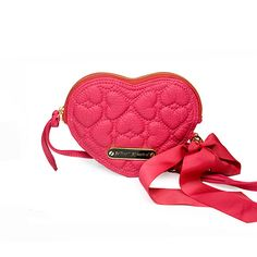Quilted Heart Wristlet by Betsey Johnson