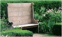 Garden furniture. The Dorset Settle  - Arabella Lennox Boyd