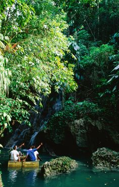 Admiring the scenery - Somerset Falls, Orange Bay #Jamaica