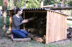Make This DIY Outdoor Storage Unit + More Outdoor Fall Projects >> http://blog.diynetwork.com/maderemade/2015/11/06/outdoor-diy-projects/?soc=pinterest