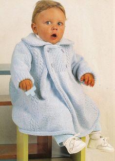 Tapado tejido clásico para bebe