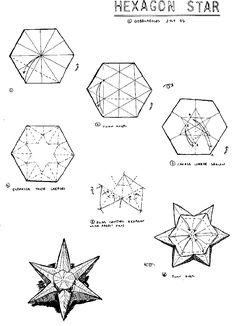 origami shuriken - Cerca con Google