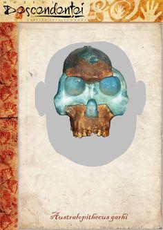 Australopithecus garhi - BOU-VP-12/130 - reconstruction by Eduard Olaru