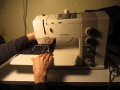 My latest vintage sewing machine, a Bernina 930 Record, which dates from the early 1980's. For more info on vintage sewing machines (and sewing), check out m...