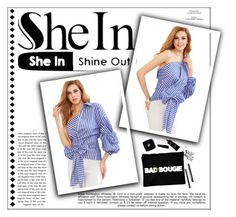 """""""shein contest"""" by melisa-j ❤ liked on Polyvore featuring Whiteley"""