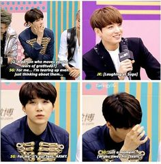 Oh suga, you and your acting