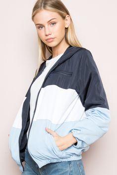 Krissy Windbreaker Jacket - Outerwear - Clothing