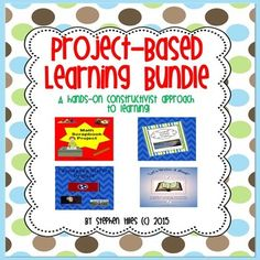 Project Based Learning Bundle:This resource includes the following project based learning activities as listed below: The Math Scrapbook Project consists of twelve math objectives encompassing number sense, fractions, measurement and geometry. This activity is geared more toward a teacher summative assessment of skills previously taught.