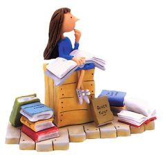 Matilda Figurine.  This would be very cool to have, but is almost impossible to find.  It was released in 2003 and was designed by Robert Harrop based upon Quentin Blake's illustrations in the book.