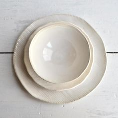 Lee Wolfe, minimalist dinnerware set
