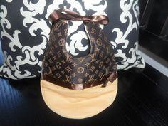 Designer+Inspired+Louis+Girl+Baby+Bib+by+sewuniquebaby+on+Etsy,+$17.00