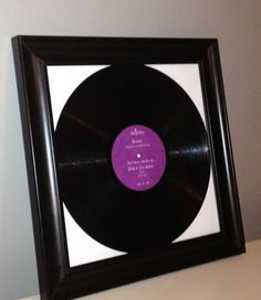 LP Vinyl Record Guest Book with Personalized Center by BridalStock, $55.00
