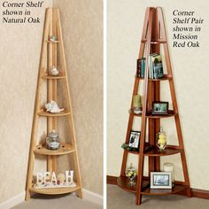 Escalera Corner Shelf