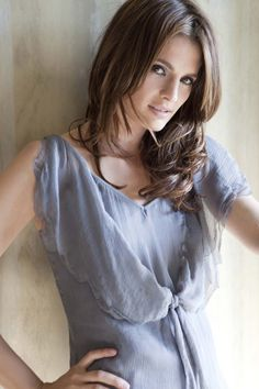 Stana Katic. Shes sooo beautiful and such a great actress. Natural beauty at its finest!