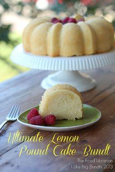 Ultimate Lemon Pound Cake Bundt by Food Librarian, via Flickr