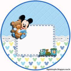 New Baby Born Party Products Ideas Festa Mickey Baby, Mickey Mouse Baby Shower, Mickey Birthday, Baby Mouse, Baby Birthday, Birthday Parties, Scrapbook Bebe, Baby Scrapbook Pages, Mickey Mouse Crafts