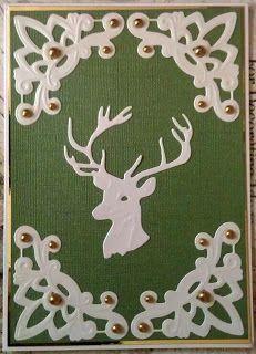 Paper Play by Kathi: Marianne Creatables Reindeer Card