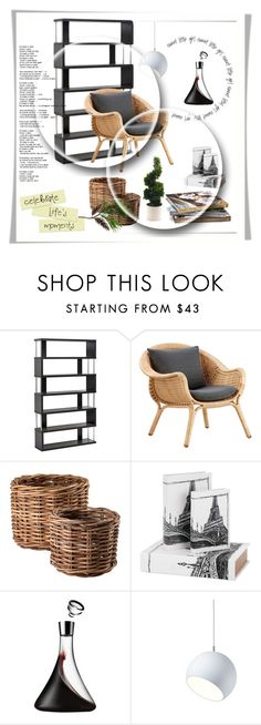 """#viva 54"" by bibeviva on Polyvore featuring interior, interiors, interior design, home, home decor, interior decorating, Dot & Bo, Sika, Eichholtz and Imax Home"