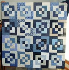 I made this quilt pattern in Black and White once. | These are a ... : bento box quilt instructions - Adamdwight.com