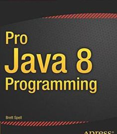 Pro Java 8 Programming PDF