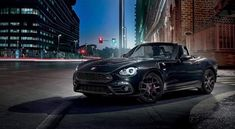 For an authentic, adrenaline-packed driving experience, look no further than the thrilling Abarth 124 Spider. Performance is in its essence and the design blends a clear hint to iconic heritage with a contemporary racing style. Fiat Abarth, Steyr, Racing, Vehicles, Spider, Contemporary, Cars, Design, Running