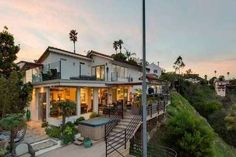 SOLD!!! 1904 N. CRESCENT HEIGHTS BLVD. HOLLYWOOD HILLS | $2,772,000 | 3 Beds / 2.5 Baths | Romantic Hillside Sunset Strip Architectural with Dazzling Views.